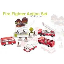 3D Foam Puzzle - Fire Fighter Series