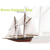 3D Foam Puzzle - Bruno Ship