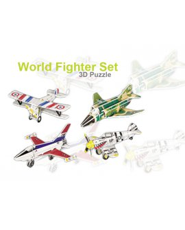 3D Foam Puzzle - Fighter Plane set 2