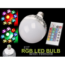 LED Light Remote Lamp Bulb