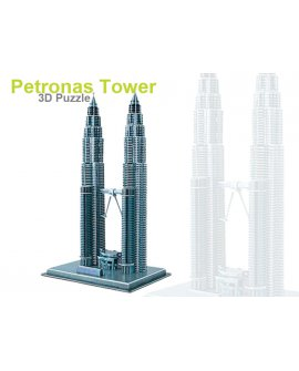 3D Foam Puzzle - PETRONAS TOWERS
