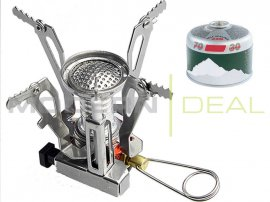 Portable Gas Camping Stove - 3.5""