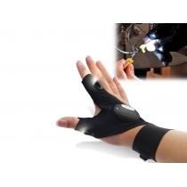 Fingerless Glove with LED