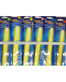 Safety Glow Sticks 34cm 6pc
