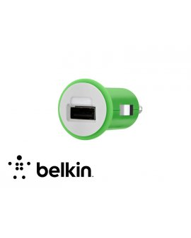 Belkin Micro Car Charger - GREEN