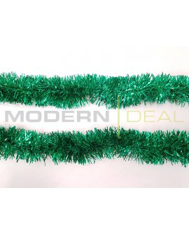 Tinsel Long Bristle 10m - Green