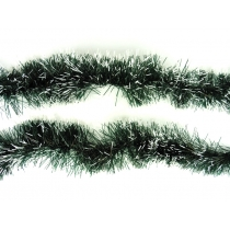 Tinsels Long Bristle 10m - Green w/white