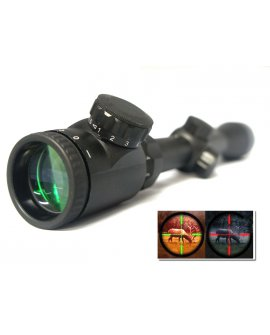 3-9x40 Air Rifle Gun Scope Illuminated Red & Green