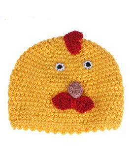 Knit Beanie - Chicken