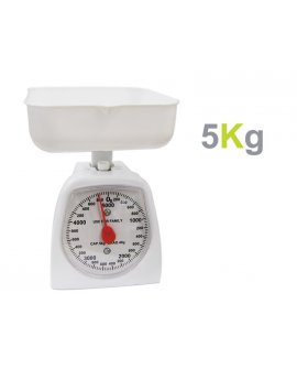 Portable NEW Kitchen Scale 5Kg - White