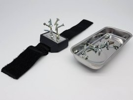Magnetic Tray and Wrist Strap