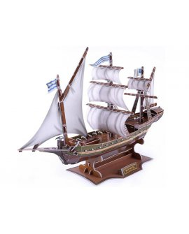 3D Puzzle - Military Mystic Ship
