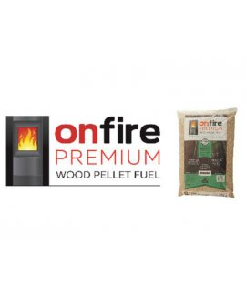 Wood Pellet Fuel 15kg Bag