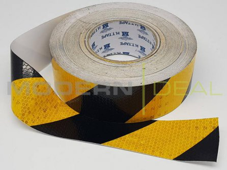 Hazard Tape Reflective 40m