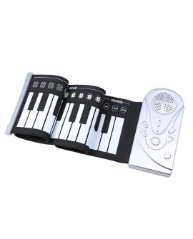 Roll Up Soft Keyboard with Speaker