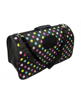 Travel Pet Carry Bag - Polka Dots
