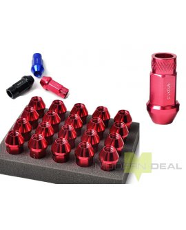 Wheel Nuts - 12 x 1.25 - RED