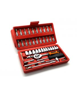 "Socket Set - 45pcs 1/4 "" Drive"