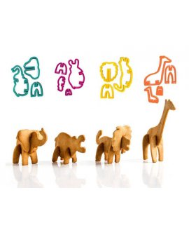 3D Safari Cookie Cutter Set