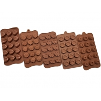 Chocolate Mould Set B - 5 Trays