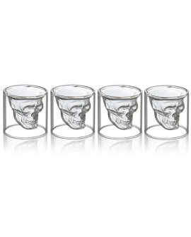 Skull Shot glass - 4Pcs