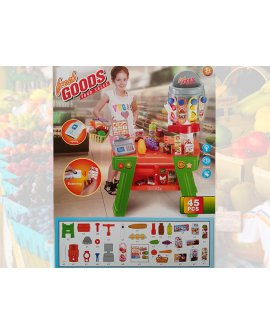 Supermarket Kids Pretend Play Toy Set