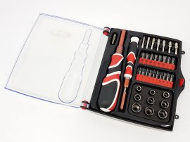 Screwdriver / Socket Tool Set - 34pcs