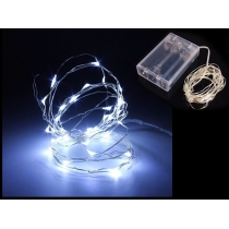 Wire String Lights (5m / 50 LED) - White
